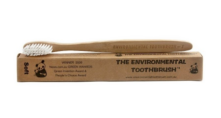 photo of adult bamboo toothbrush