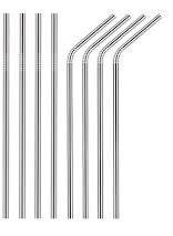 photo of stainless-steel-silver-straws