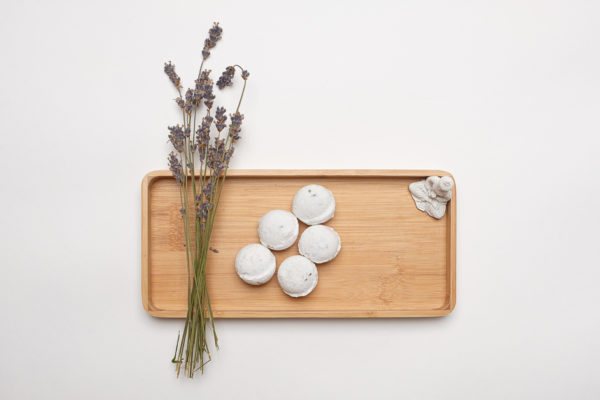 photo of eco-vie Lavender, Lime & Peppermint bath bombs